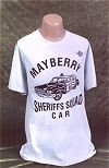 Mayberry Squad Car T-shirt
